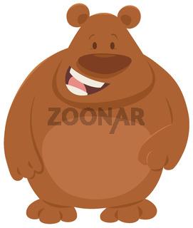 cartoon bear animal character