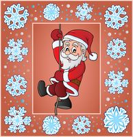 Christmas ornamental greeting card 4