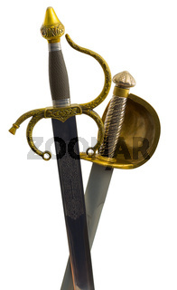 Shaft of saber and sword