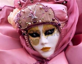 Rosa Maske-mask rose