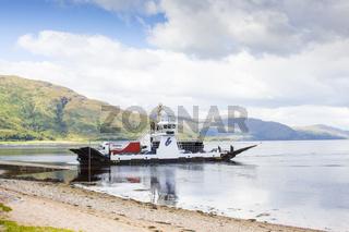 ferry to Skye Island in Scotland