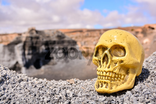 Object in the Dry Desert