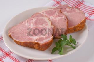 smoked pork neck