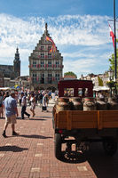 Gouda, the City in the Dutch province of South Holland