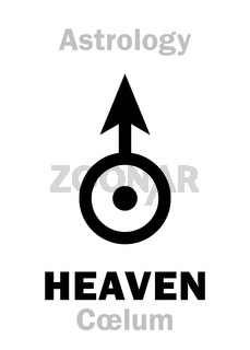 Astrology: Sign of HEAVEN (Cœlum)