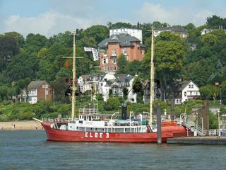 Feuerschiff Elbe 3 in Hamburg