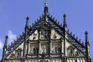 Steinfiguren der zwölf Apostel,  St.-Paulus-Dom, Münster, NRW