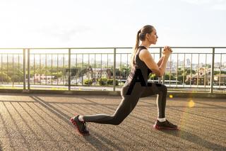 Modern fitness life
