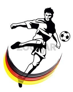 Fußballmotiv
