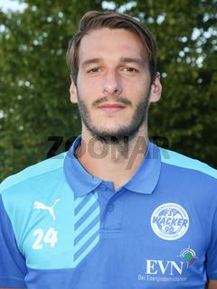 Kevin Nennhuber FSV Wacker 90 Nordhausen NOFV-Regionalliga Nordost, Saison 2016/17