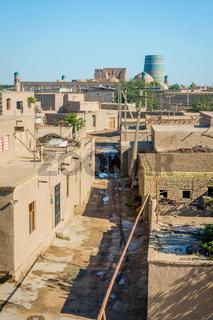Skyline of Khiva, Uzbekistan