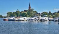 Village of Roebel Mueritz,Mecklenburg Lake District,Germany