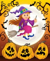 Cute witch theme image 6