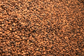 Frische gerösteter Kaffee