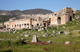 Antikes Theater in Hierapolis