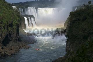 Iguacu Wasserfaelle