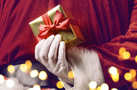 Santa hiding surprise
