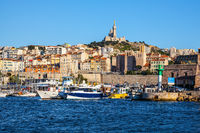 The water area of the Old Port of Marseille