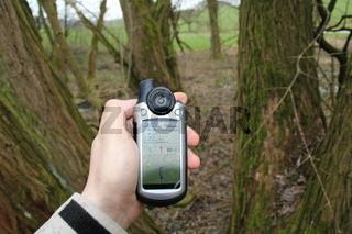 Geocaching mit modernem GPS