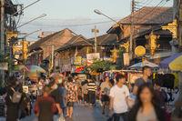 THAILAND LAMPANG CITY NIGHTMARKET