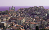 Panoramic view of Imperia
