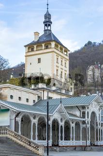 Impressions of Karlovy Vary in Czech Republic