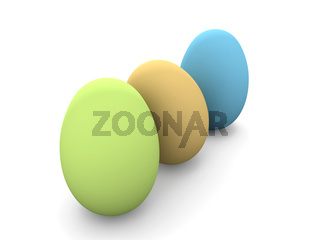 Colored  Eastereggs