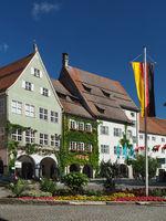 Town hall in Isny im Allgäu