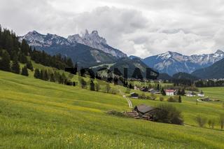 Rad- und Wanderwege, Tannheimer Tal, Tirol, Oesterreich