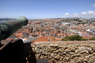 Lissabon, Tejo und Brücke