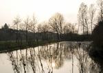 Weiher Schloss Buseck, Bubach-Calmesweiler, Saarland, D