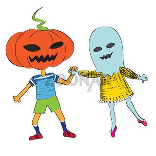 phantom an pumpkin