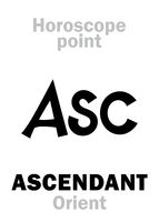 Astrology: ASC (Oriental point)