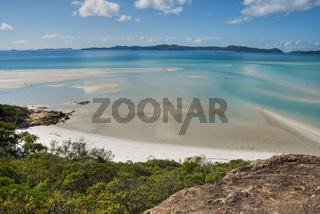 Whitehaven Beach Bay, Queensland, Australia, August 2009