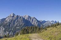 Hiking in the Karwendel Mountains