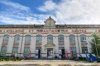 Nantes Shipyard in France