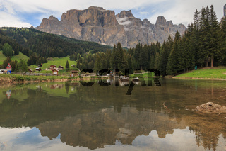 Sella Towers in the Dolomites