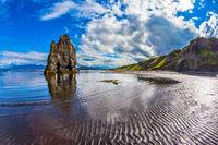 The coast of Iceland