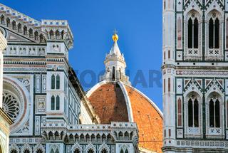 cupola of Santa Maria del Fiore Duomo Cathedral