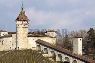 Festung Munot, Schaffhausen, Schweiz