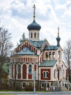 Orthodox Church Mariánské Lázne in Czech Republic