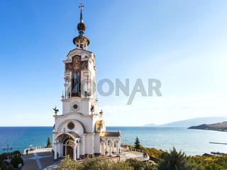 Church-lighthouse of St. Nichola in Crimea