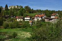 swabian alb; germany; castle; ruin; Niedergundelfingen