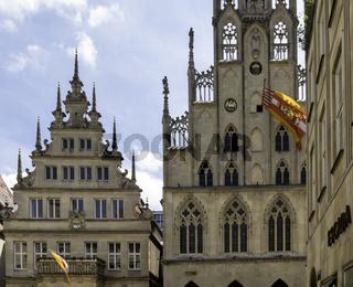 Historisches Rathaus und Ratskeller, Münster, NRW