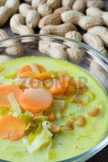 Afrikanische Gemüsesuppe - African Vegetable Soup