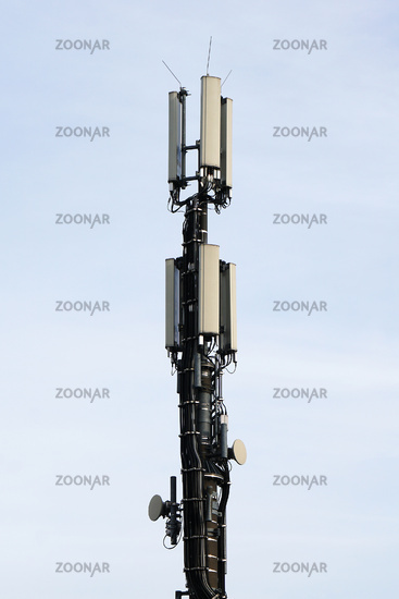 close-up mobile communication antenna