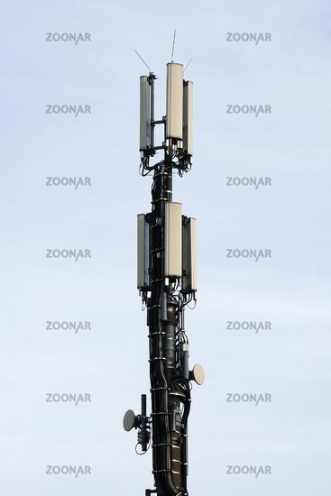 close-up mobile communication antenna
