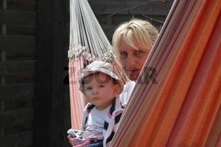 Mutter und Kleinkind entspannen,Mother and Baby