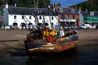 Fischerboot In Ullapool