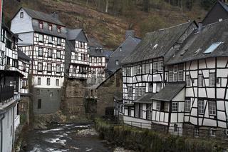 Monschau - historic city in western Germany